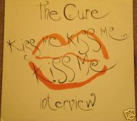 display image of CURE - Kiss Me Interview