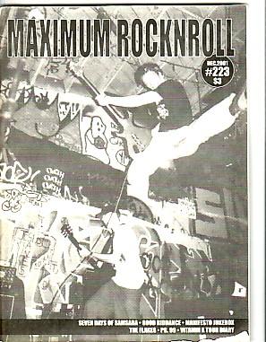 Maximum Rock 'n' Roll No. 223