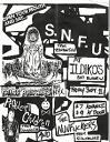 SNFU flyer
