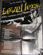 LEVELLERS, On The Road In 1993 Poster