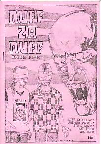 Nuff Za Nuff No. 5 Zine