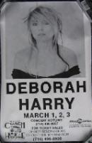 display image of DEBBIE HARRY - USA 1993 California Gig