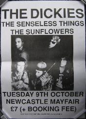Newcastle Mayfair 1990 Poster