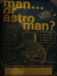 MAN OR ASTROMAN?, Intravenous Television Tour Poster