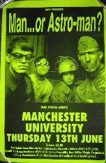 Manchester University 1996 Poster