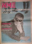 Front Cover NME 31/5/86 (featuring) mighty-lemon-drops [thumbnail]