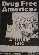 Attitude 50c Poster