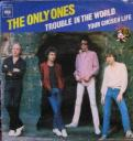 Only Ones 'Trouble In The World' French 7″