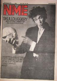 RICHARD HELL, Front Cover NME 12/2/83