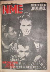 NME Jan 1983 Front Cover