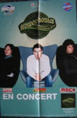 STEREOPHONICS, French 2001 Gig Poster