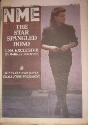 NME Front Cover 22/6/85