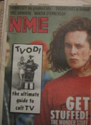 WONDERSTUFF, Front Cover NME 9/4/88