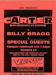 5/2/92 Gig Flyer (featuring) carterbilly-bragg [thumbnail]