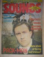 Front Cover Sounds 26/1/85 (featuring) james-king [thumbnail]