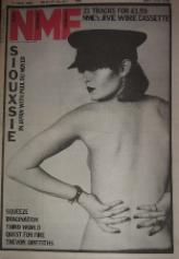 display image of SIOUXSIE - Front Cover NME 17/4/82
