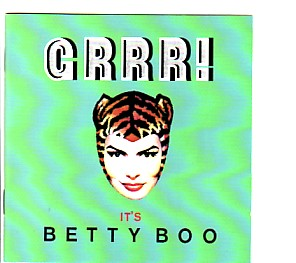 BETTY BOO, Grrr! It's Betty Boo