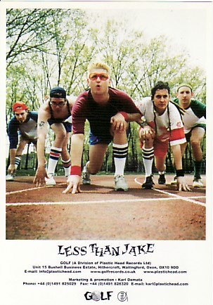 LESS THAN JAKE, 2001 Press Photo