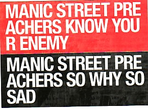 MANIC STREET PREACHERS, Know Your Enemy