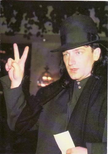 U2, Postcard Of Bono