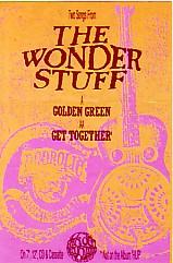 Golden Green Promo Sticker