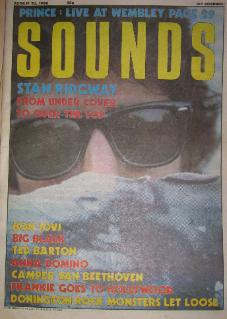 display image of BIG BLACK - Sounds 23/8/86