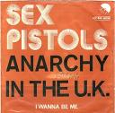 Sex Pistols Anarchy In The UK Belgian