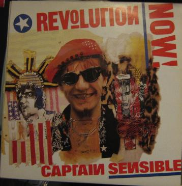 display image of CAPTAIN SENSIBLE (DAMNED) - Revolution Now