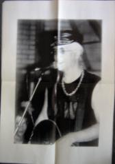 display image of CAPTAIN SENSIBLE (DAMNED) - Poster Circa Deltic Days