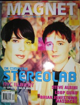 Front Cover Magnet Amagazine Nov 1997 (featuring) stereolab [thumbnail]