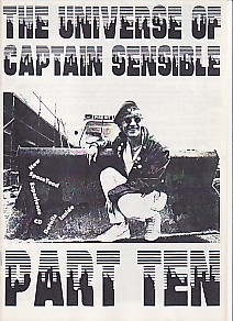 display image of CAPTAIN SENSIBLE (DAMNED) - The Universe Of Captain Sensible Part 10 Magazine