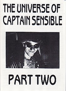 display image of CAPTAIN SENSIBLE (DAMNED) - The Universe Of Captain Sensible Part 2 Magazine