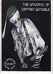 display image of CAPTAIN SENSIBLE (DAMNED) - The Universe Of Captain Sensible Magazine Part 4