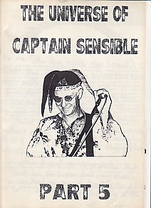 display image of CAPTAIN SENSIBLE (DAMNED) - The Universe Of Captain Sensible Part 5 Magazine