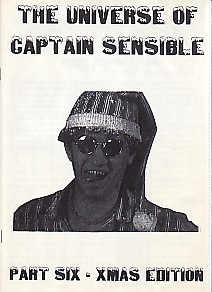 display image of CAPTAIN SENSIBLE (DAMNED) - The Universe Of Captain Sensible Part 6 Magazine