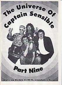 display image of CAPTAIN SENSIBLE (DAMNED) - The Universe Of Captain Sensible Part 9 Magazine