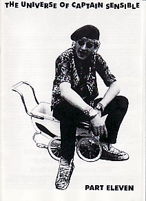 display image of CAPTAIN SENSIBLE (DAMNED) - The Universe Of Captain Sensible Part 11 Magazine