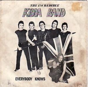 """Incredible Kidda Band Everybody Knows 7\"""""""