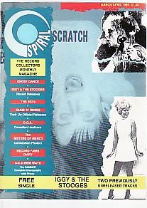 Spiral Scratch Magazine march 1989