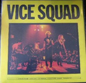 """Vice Squad Living on Dreams 12\"""""""