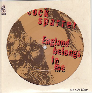 display image of COCK SPARRER - England Belongs To Me