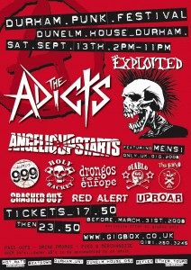 Durham Punk Festival 13th Sept