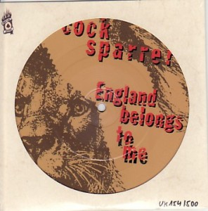 Cock Sparrer England Belongs To Me Picture Disc