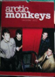 ARCTIC MONKEYS, 2007 Calendar