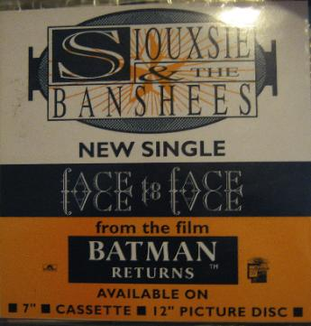 display image of SIOUXSIE AND THE BANSHEES - Face To Face
