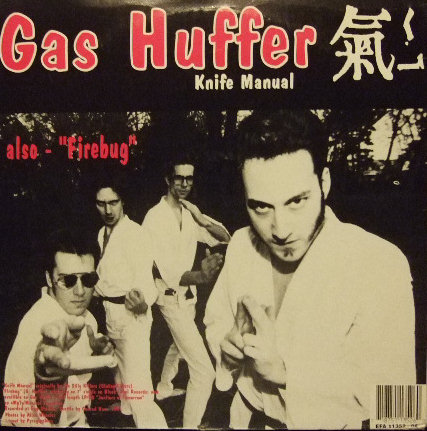 display image of MUDHONEY/GAS HUFFER - You Stupid Asshole