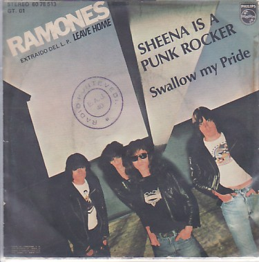 display image of RAMONES - Sheena Is A Punk Rocker