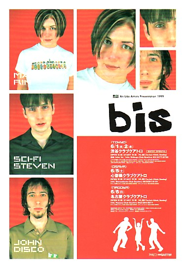 BIS, 1999 Japanese Tour Flyer