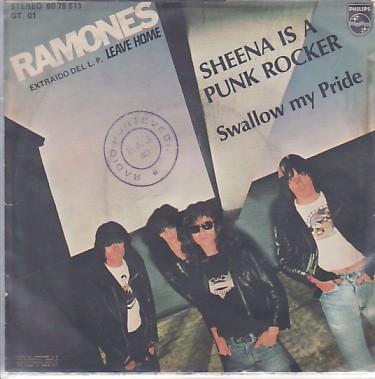 Ramones Sheena Is A Punk Rocker spanish