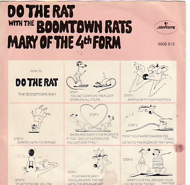display image of BOOMTOWN RATS - Do The Rat